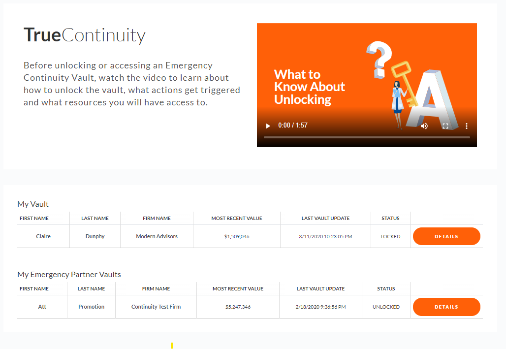 Activating Emergency Business Continuity Plan Financial Advisor